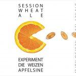 Experiment die Weizen Apfelsine