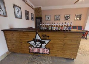 Магазин пивоварни Barbudos
