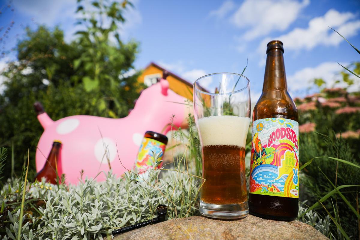 American Pale Ale Woodstock от Barbudos