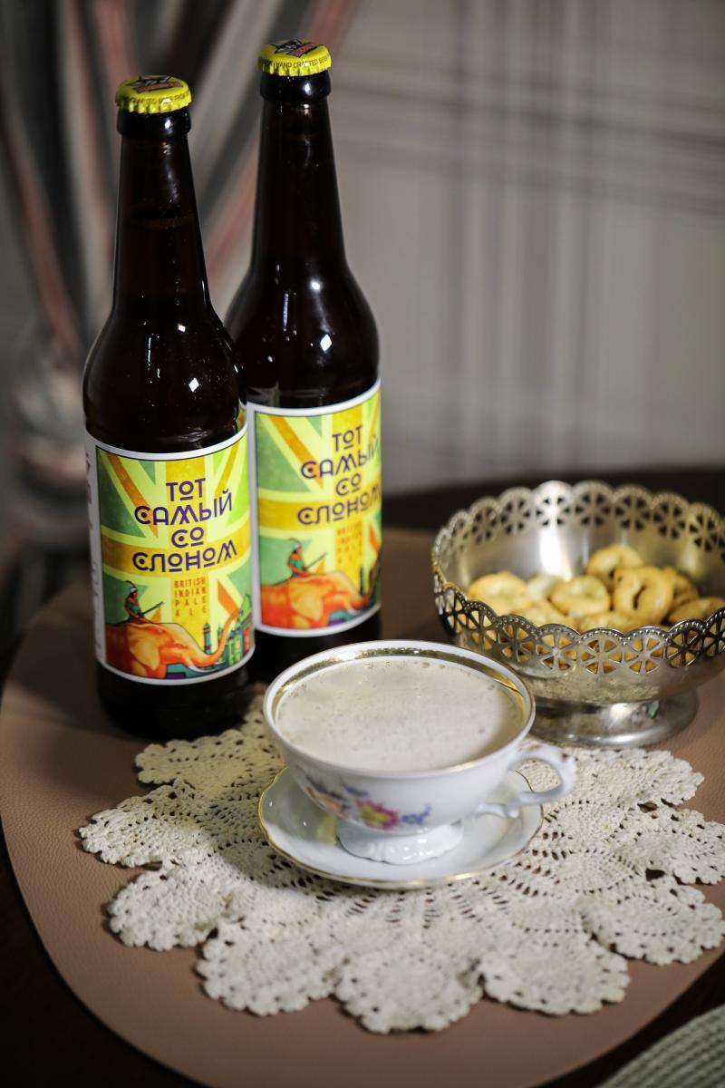British IPA, пиво крафтовое, Barbudos